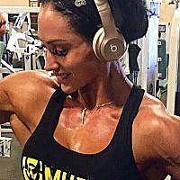 23 year old IFBB Figure Azaria Glaim