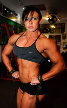 Rene Campbell female bodybuilder