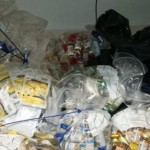 Customs staff discovered a record amount of anabolic steroids