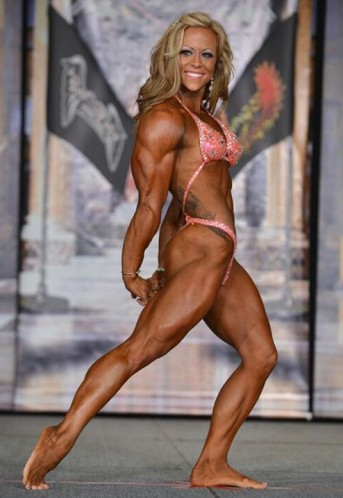 IFBB Women's Physique Pro Danielle Reardon