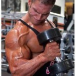 Hammer curls for building big arms
